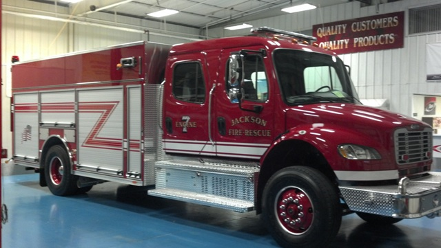 New Pumper Truck